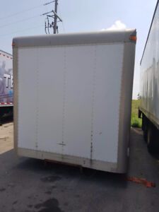 2000 Freightliner 24ft Truck Box & Tailgate for Sale