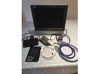 "Samsung 15"" LCD TV & Set Top Box"