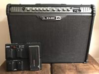 LINE 6 BUNDLE - 150W GUITAR AMP AND FOOT CONTROLLER