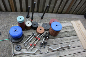 Weights and bars looking for a good home!!!