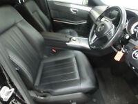 Black Mercedes-Benz E-Class E220 2.1CDI 7G-Tronic Plus ***FROM £329 PER MONTH***