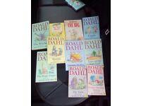 Roald dahl booksx10 £25 or best offer