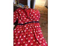 Frugi maternity nursing dress large
