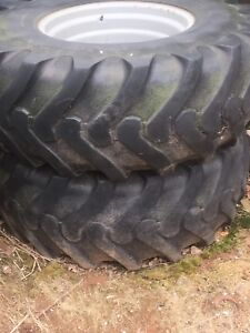 480/80r26 tractor tires and rims.