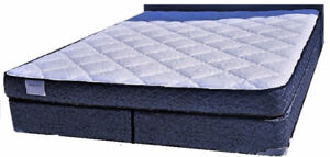 For sale.  New King mattress and split box spring set