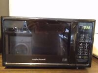 Morphy richards microwave - electronic