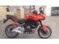Fantastic 2007 Kawasaki Versys 650 with loads of add-ons