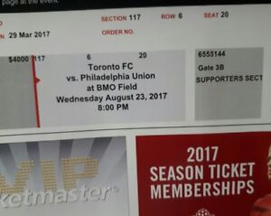 Toronto FC Vs Philadelphia Union