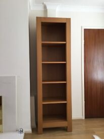G-plan, Arena range bookcase, medium oak.
