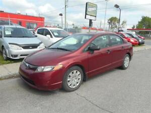 HONDA CIVIC 2006 AUTOMATIQUE *GARANTIE 1 ANS OU 15000KM INCLUS*