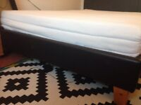 £30 - Double mattress: Almost new, super comfortable