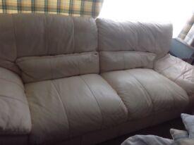 Free!! 3 seater leather sofa