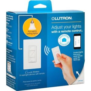 Caseta Wireless dimmer switch with remote