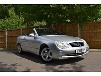 2005 Mercedes-Benz CLK200 Kompressor 1.8 Auto Avantgarde £180 A Month £0 Deposit