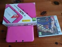 Pink 3DS XL and Style Boutique game