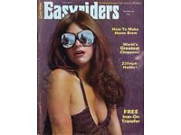 Wanted EASY Rider Or Iron Horse Magazines 60s / 70s retro