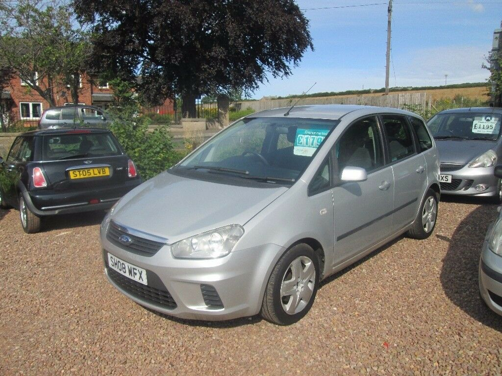 ford focus c max 2008 1 6 ltr tdci 132000 miles 1 year. Black Bedroom Furniture Sets. Home Design Ideas