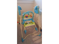Fisher Price smart stages 3 in 1 Swing & Seat & Rocker