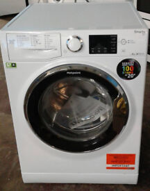 O515 white hotpoint 8kg 1400spin A+++ rated washing machine comes with warranty can be delivered
