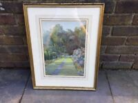 Original and signed watercolour by Edith A Andrews