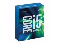 Intel Core i5 6600K Unlocked Skylake CPU 2 full years of warranty left