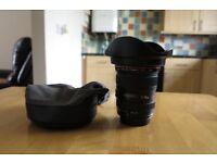 Canon EF 17-40mm 1:4 L USM Lens Ultrasonic