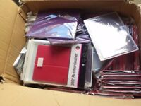 CLEARANCE 200 pcs Mobile Phone Tablet Covers Mixed Brand Box Job lot Car Boot UK