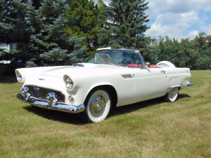 1956 Ford Thunderbird Two Door  Convertible - fully restored
