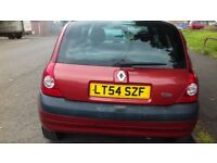 RENAULT CLIO 1.2 PETROL MOT TILL JUNE EXCELLENT CONDITION ((IDEAL FIRST CAR)) DRIVES REALLY WELL