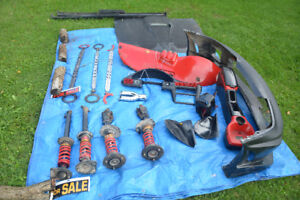 Various parts for a Cavalier