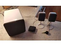Dell PC Speakers + Sub woofer