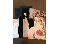 JOB LOT OF 89 ITEMS OF WOMENS CLOTHES SIZES 8-12 ALL EXCELLENT CONDITION