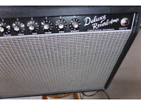 FENDER '65 DELUXE REVERB AMP. P/X POSSIBLE.