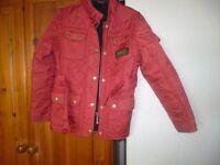 Barbour jacket girls