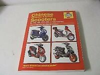 HAYNES MANUAL FOR CHINESE -KOREAN -TAIWANESE- SCOOTERS £15 ONLY