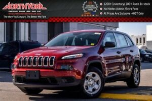 2017 Jeep Cherokee NEW Car Sport|Cold Wthr Pkg|RearCam|Bluetooth