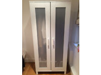 EXCELLENT condition, 2 month old White Ikea Wardrobe. Must go this week!