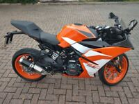 Fantastic KTM RC125 17-REG Stunning Learner Legal Super Sports Bike £3400 O.N.O