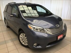 2015 Toyota Sienna Limited AWD *Loaded*