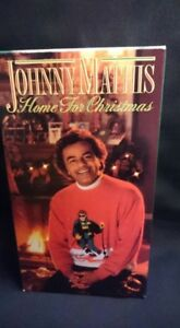 Johnny Mathis Home For Christmas VHS