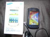 Samsung GALAXY FAME GT-S6810P Mobile Phone, Was on Vodafone PAYG, Boxed
