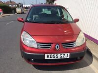 Renault Scenic, Automatic, Low Mileage, MOT 09/03/2018,