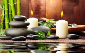 Warm oil massage by male Massage Therapist m