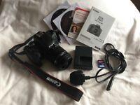 Canon eos 750d 18-55mm SLR Camera
