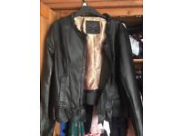 Leather look pretty jacket 20