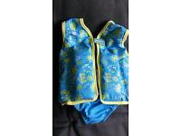 Speedo Sea Squad Swim or Float Vest 2-3 year old