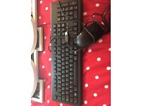 Brand new keyboard and mouse