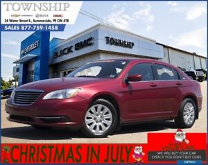 2012 Chrysler 200 LX - Automatic - Air Conditioning - Power Opti