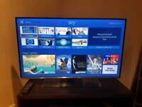 SAMSUNG 40INCH TV + TV Bench