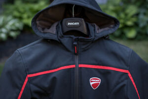 Women's Medium Ducati Jacket - Fabric Jacket Redline